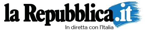 La Repubblica Logo Home Payoff