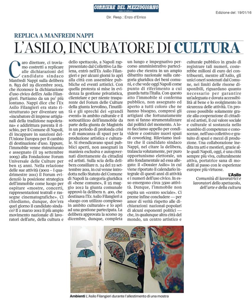 Corriere-del-Mezzogiorno---lettera-18-1-2016