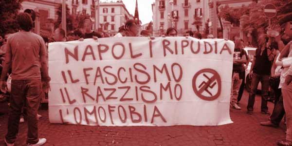Anti Fascismo Striscione Iniziale1
